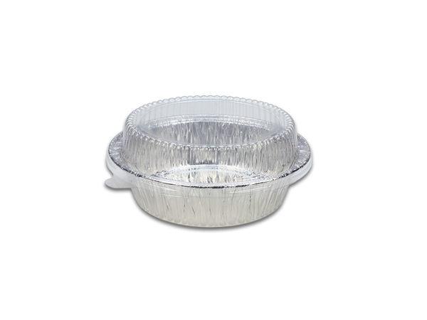 10入 附透明蓋 圓形4吋 蛋糕模 烤模 A426