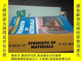二手書博民逛書店b0047a罕見text book of strenght of