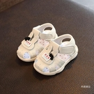 學步鞋 夏季新款0-1-2-3歲女寶寶學步童鞋兒童涼鞋公主鞋叫叫鞋軟底防滑【免運】
