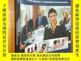 二手書博民逛書店Leading罕見with Communication: A Practical Approach to Lead