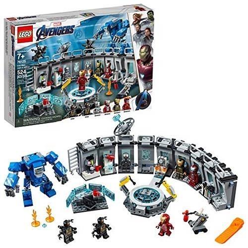 LEGO 樂高 Marvel Avengers Iron Man Hall of Armor 76125 Building Kit (524 Piece)