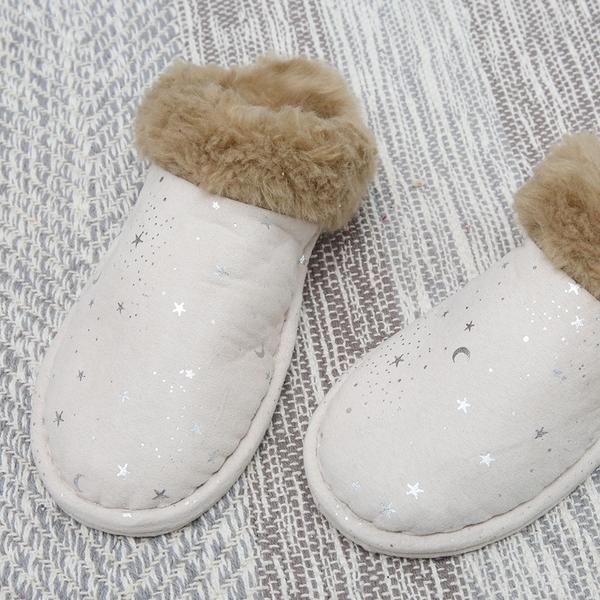 白晝銀星室內拖鞋(M)-生活工場