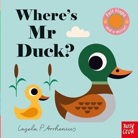 Where's Mr Duck? 鴨子先生在哪裡? 不織布翻翻書