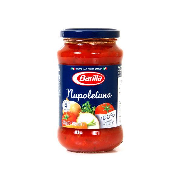 義大利【Barilla】 拿坡里蔬菜蕃茄醬  400g