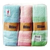 miine 橫紋毛巾 3入【屈臣氏】
