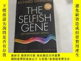 二手書博民逛書店THE罕見SELFISH GENE自私的基因 英文原版32開庫存書 Y25607 THE SELFISH GE