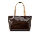 簡約緹花布防水手提包/單肩包/托特包/購物包/MIT/台灣製【U2 Bags】A1534