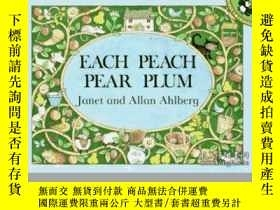 二手書博民逛書店Each罕見Peach Pear Plum-每個桃梨李Y436638 Allan Ahlberg; Ja...
