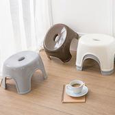日式加厚塑料矮凳客廳換鞋凳 創意家用兒童
