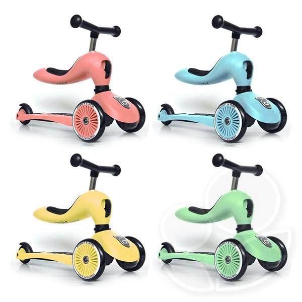 【輸碼JIAECAR折300】奧地利 Scoot&Ride Cool 飛滑步車/滑板車(冰淇淋4色可選)【佳兒園婦幼館】