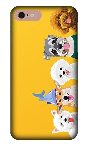 |文創現貨| iPhone 7 Plus i7 i7+ i6+ i6 i6S 6 6S 指環 手機殼 指環扣 指環支架 犀牛盾支架 狗狗家族