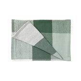 丹麥 Muuto Loom Throw 180x130cm 方格 純棉紡織 沙發毯 / 個人被毯(綠色系列)