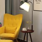 茶幾落地燈實木客廳臥室床頭燈創意北歐遙控美式落地台燈歐式原木