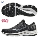 MIZUNO WAVE INSPIRE 17 WAVEKNIT 男鞋 慢跑 ENERZY中底 黑【運動世界】J1GC211334