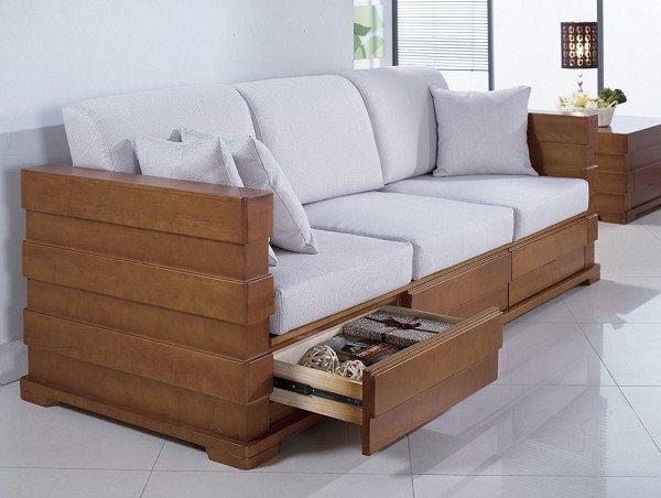沙發 SB-667-2 羅伊柚木組椅-雙人座【大眾家居舘】