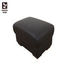 椅凳 腳椅 收納椅 Lorna洛娜Q彈咖啡色皮腳凳-8316【多瓦娜】