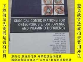 二手書博民逛書店Surgical罕見Considerations for Ost
