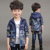 男童秋冬裝外套新款6韓版7中大兒童9男孩10歲5加厚加絨沖鋒衣