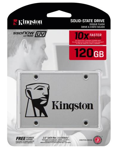 Kingston SUV400S37/120 固態硬碟 2.5吋 SATAIII 最高讀取 550MB/s 7mm