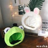 布偶  鸚鵡兄弟同款兔子青蛙頭套軟妹自拍賣萌神器毛絨布偶頭套  瑪奇哈朵