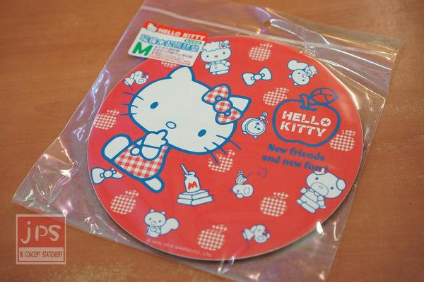 Hello Kitty 環保木製隔熱墊 (小) 蘋果紅