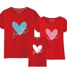 親子裝 親子裝夏裝一家三口新款潮全家裝母子母女裝純棉短袖t恤春裝 店慶降價