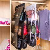 包包收納掛袋衣柜透明布藝防塵袋墻掛家用整理懸掛收納架柜盒神器花間公主