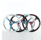 26寸鎂合金山地車台體輪自行車輪轂卡式旋式碟剎培林花鼓三刀輪組MBS