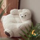 日式蒲團熊坐墊家用客廳地板陽臺飄窗加厚座墊榻榻米墊子【創世紀生活館】