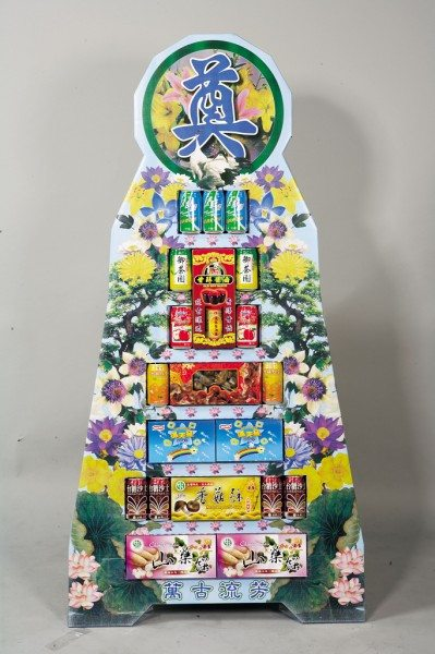 (YA-03)追思弔慰花禮喪禮告別式悼念敬輓用7層罐頭塔/罐頭座3000元/對(飲料+食品)全台可配送免運費