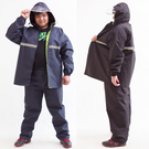 雨衣套裝大尺碼雨衣套裝大尺碼雙層分體加厚...