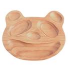 日本 PETITS ET MAMAN 造型木質餐盤(L) 熊貓