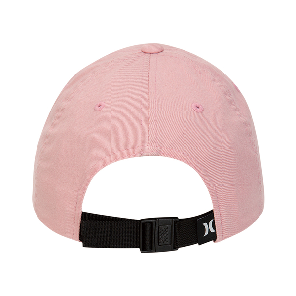 Hurley  M OAO BOXED WASHED HAT BLACK  棒球帽-(男)