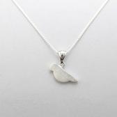 項鍊 925純銀吊墜-小鳥造型生日情人節禮物女飾品73gj63【時尚巴黎】