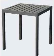 【南洋風休閒傢俱】戶外餐桌椅系列-鐵板小邊桌   戶外沙發茶几 戶外茶几 咖啡桌 (S41A60)
