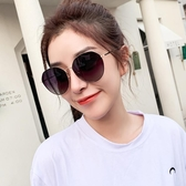 太陽眼鏡女新款韓版潮圓臉大臉顯瘦ins偏光防紫外線墨鏡 polygirl