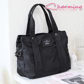 俏咪包  Simple 多夾層設計手提側背包 [LG-798] 媽媽包
