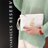 手拿包 可愛 迷你 塗鴉 彩繪 簡約 短款 多功能 隨身包 錢包 手拿包【SP98212】 BOBI  08/29