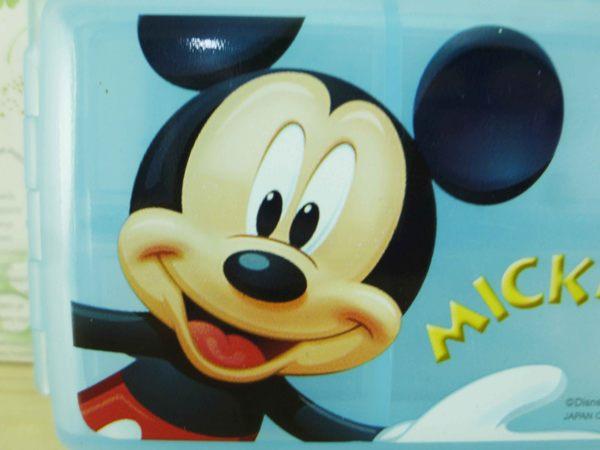 【震撼精品百貨】Micky Mouse_米奇/米妮 ~雙層盒-藍米奇