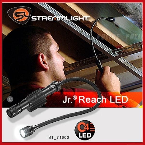 StreamLight Jr.R Reach LED 手電筒#71600 黑色/吊卡【AH14026】99愛買小舖