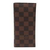 LOUIS VUITTON LV 路易威登 棋盤格兩折式中夾【BRAND OFF】