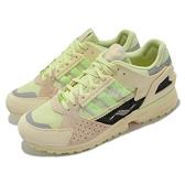 adidas 休閒鞋 ZX 10000 C 黃 螢光綠 麂皮 復古 愛迪達 三葉草 男鞋 【ACS】 FV3323