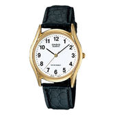 CASIO 卡西歐 手錶專賣店 MTP-1094Q-7B1 簡約時尚指針男錶 皮革錶帶 天使白 生活防水