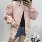 夾克外套女女裝韓版學生寬鬆棒球服短款外套
