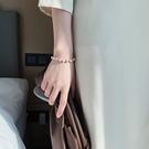 手鏈 巴洛克天然珍珠閨蜜手鏈手串小眾設計首飾姐妹信物網紅手鐲【快速出貨八折鉅惠】