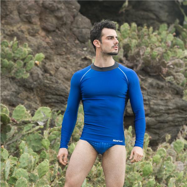 ≡MARIUM≡ 半身水母衣-寶藍 MAR-2803