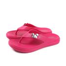 迪士尼 Disney 米奇 夾腳拖鞋 女鞋 桃紅色 119603W no144