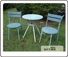 {{ 海中天休閒傢俱廣場 }} G-52 戶外時尚 編藤桌椅系列 42-7 65cm圓桌椅組(1桌2椅)