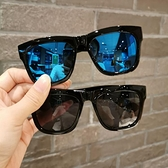 潮款兒童太陽鏡韓版帥氣男寶寶炫彩反光墨鏡女童時尚眼鏡防紫外線 夢幻小鎮