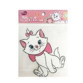【收藏天地】迪士尼防水貼紙-瑪麗貓